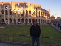 Roman Colosseum in Rome, Italy