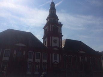 Altes Rathaus. Oldest Catholic Church in Mannheim. Pre 17th Century
