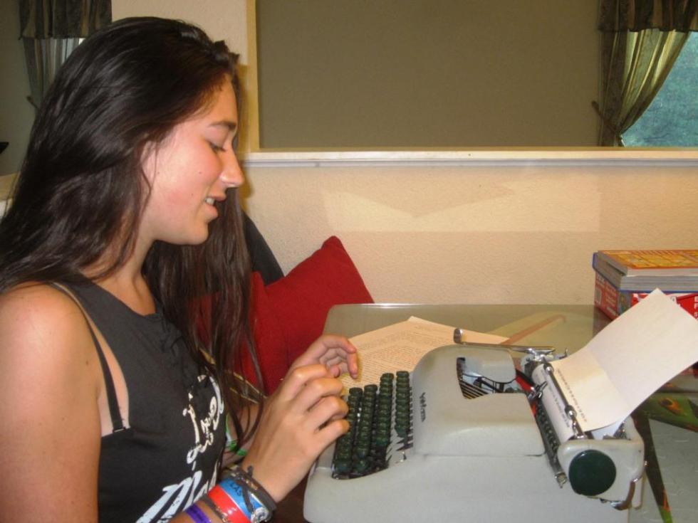 Christina Typewriter