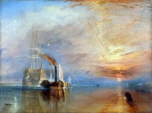 Turners, fighting Temeraire. art classes on merseyside, beginners, watercolours, acrylics, drawing, lancashire