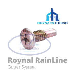 Roynal-RainLine-Product-Sekrup-Gold-Talang-Metal