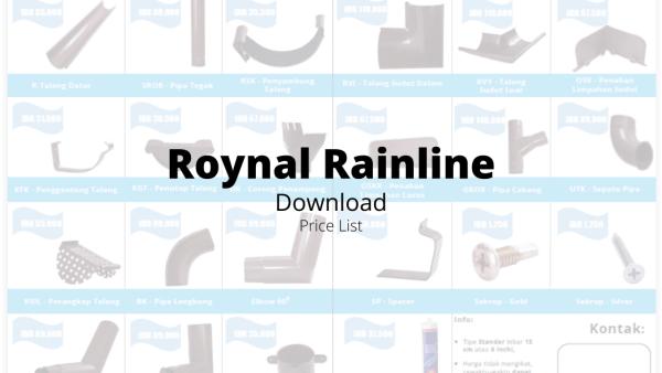Roynal-Rainline-Download-Price-List