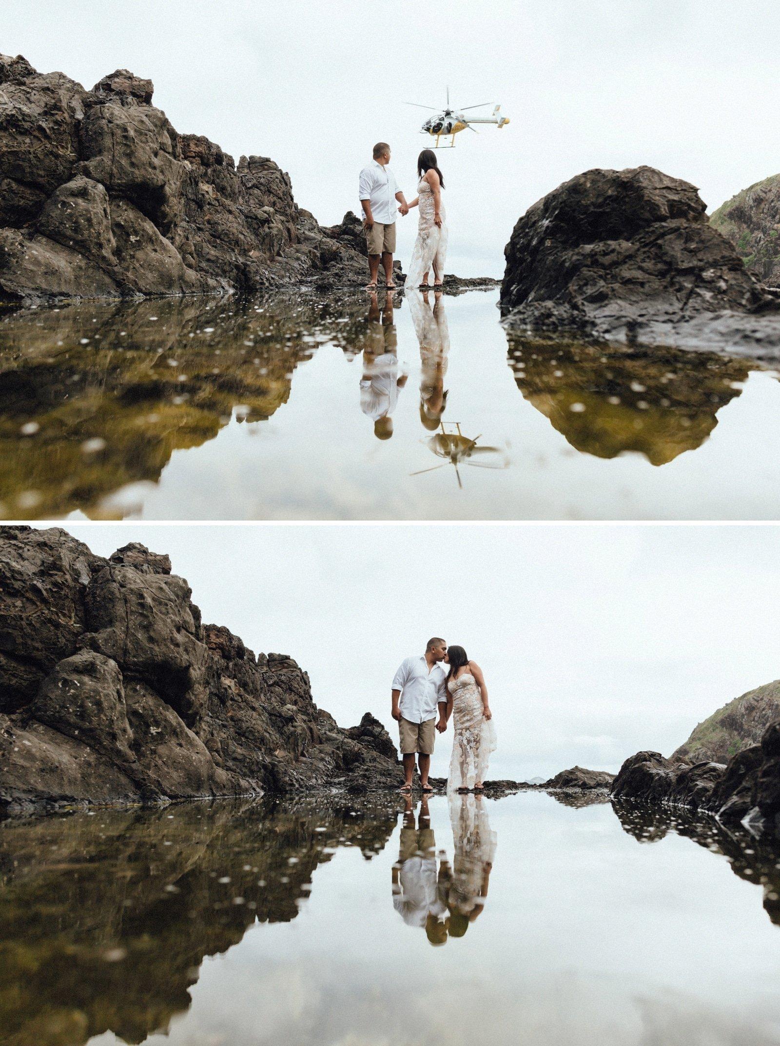 Kailua Wedding Photographer  Na Mokulua Islands Hawaii
