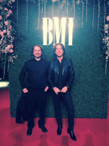 Roy Orbison Jr and Per Gessle, Roxette at the BMI Awards