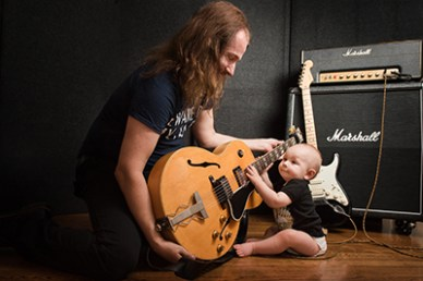 Roy Orbison Jr with his son Roy 3rd