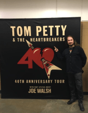 Roy Orbison at Tom Petty and The Heartbreakers Concert