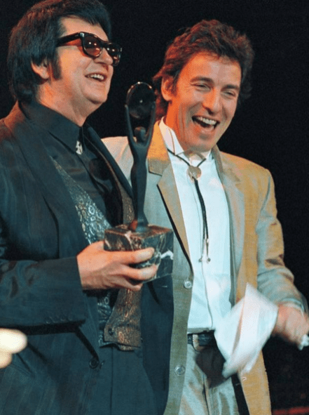 Roy Orbison and Bruce Springsteen