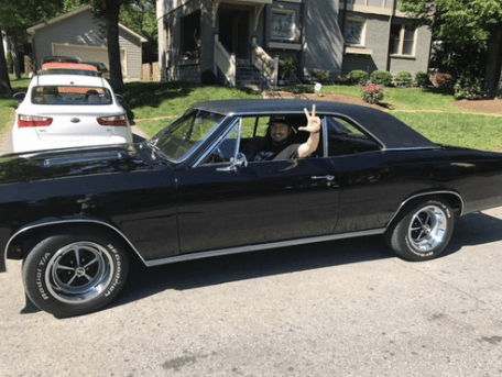 Roy Orbison Jr in his Chevelle!