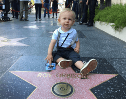 Roy Orbison 3 at GrandDad Roy Orbison's Hollywood Star!