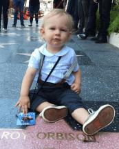 Roy Orbison 3 at Roy Orbison Hollywood Star