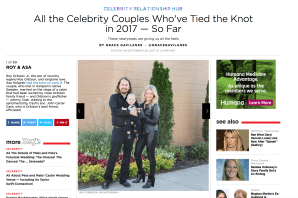 Roy Orbison Jr's Wedding - #1 Celebrity Wedding of The Year at People Magazine