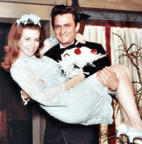 Johnny Cash married June Carter Cash on March 1, 1968! My Godparents.