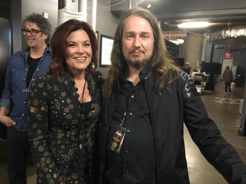 Roy Orbison Jr and Rosanne Cash at Austin City Limits