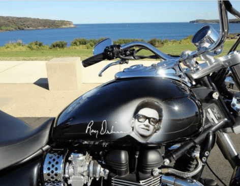 Roy Orbison Motorcycle !