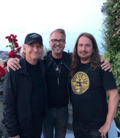 Joe Walsh, Ulf Ekberg, Roy Orbison Jr