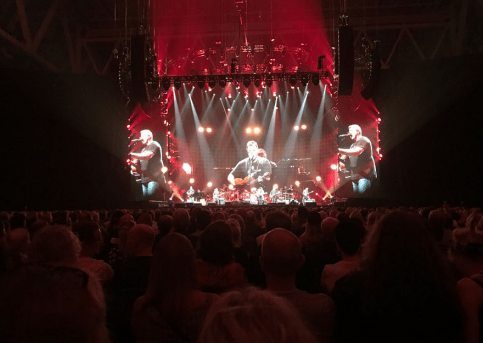 I'm at the Eagles concert in Stockholm! With Asa & Roy 3 & our Swedish family. And our friends Jonas Akelund & Ulf Ekberg Love Joe Walsh & Marjorie Walsh & Christian. Thank You Again!
