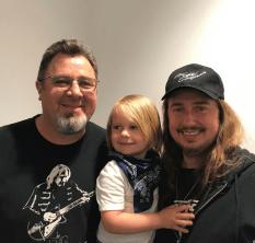 Me & Roy 3 with Vince Gill!