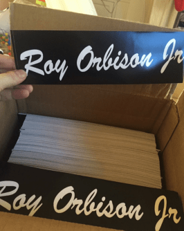 New merch in the Roy Orbison Jr Store!
