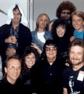 Me & The Traveling Wilburys! (I'm the one in blue far right)