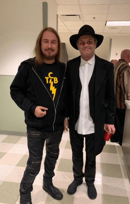Roy Orbison Jr & Micky Dolenz at The James Burton Celebration 2019
