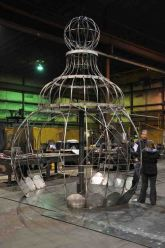 Garden Structure during Fabrication (Making Scents: The Art and Passion of Perfume)
