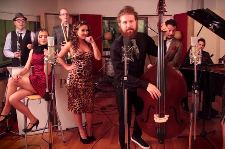 Rebellious-yet-Romantic-blog-retro-vintage-jazz-blues-music-Scott-Bradlee-Haley-Reinhart-Scottbradleelovesya