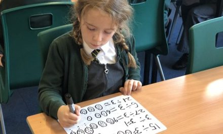 Dividing in Year 3!