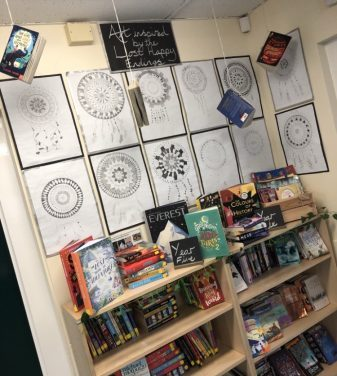 Our library area looks amazing!