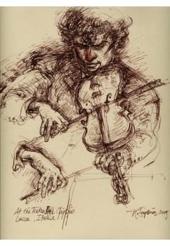 """Roy Superior, """"Violinisti"""""""