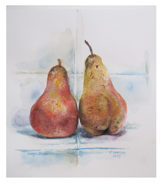 """Roy Superior, """"Two Pears"""""""
