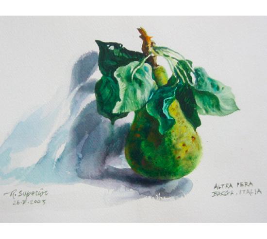 "Roy Superior, ""Pear in Braga"""
