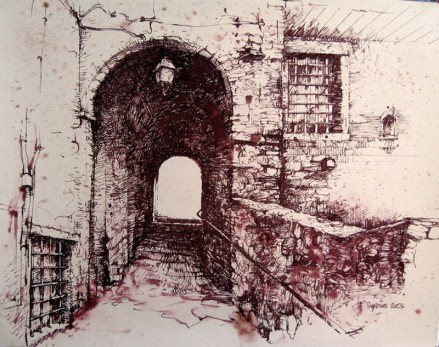 """Roy Superior, """"Castelnuovo Garfagnana, Toscana, Italia"""" 2006"""