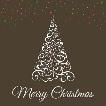 рождественская открытка скачать