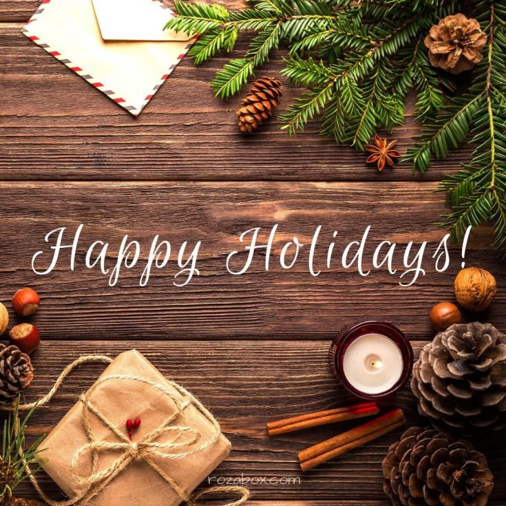 новогоднее пожелание счастливых выходных
