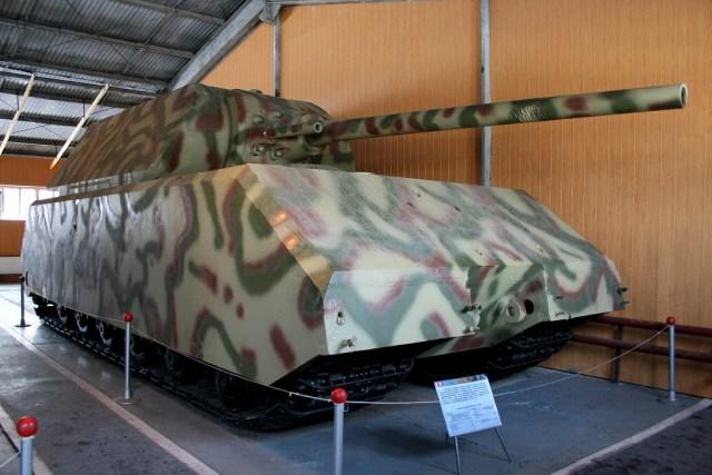 Maus, czyli największy czołg w czasie II wojnie światowej