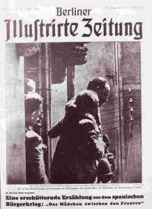 """Generałowie Mola i Franco na okładce """"Berliner Illustrirte Zeitung"""" z 27 sierpnia 1936 r."""