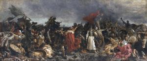 Bitwa pod Cecorą, obraz pędzla Witolda Piwnickiego