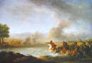 Franciszek Smuglewicz, Bitwa pod Warką