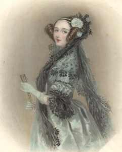 Ada Lovelace, uważana za pierwszą programistkę