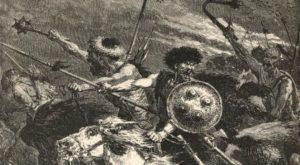 Hunowie podczas bitwy na polach Katalaunijskich