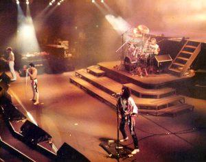 Koncert Queen we Frankfurcie, 1984 r.
