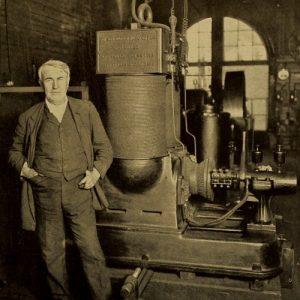 Thomas Alva Edison w 1911 roku
