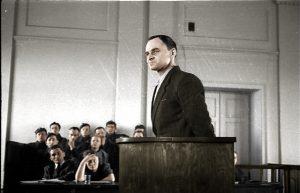 Witold Pilecki w trakcie procesu w marcu 1948 r.