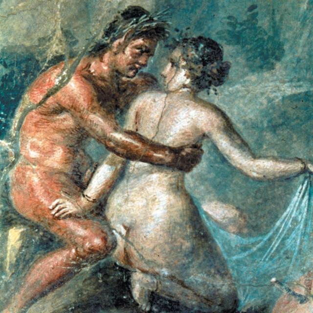 Jeśli dziś wiek rozpoczynania współżycia seksualnego dziwi i oburza, to inicjacja starożytnych wywoła szok. I to nie tylko ze względu na jej czas, ale i sposób... Na ilustracji fragment fresków odkrytych w Pompejach.