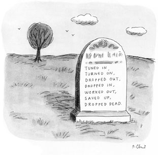 Roz Chast Cartoons Fear & Loathing