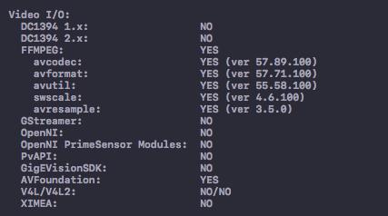 (Mac) OpenCV Terminating app due to uncaught exception 'NSRangeException' – Rozen_blog