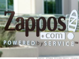 Zappos-Powered by Service
