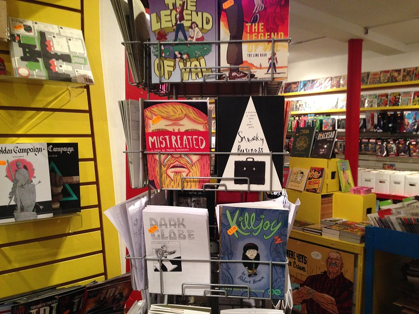 Sneaky Business now at Orbital Comics