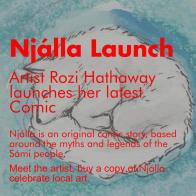 Njálla Launch, NN Café, June 2016