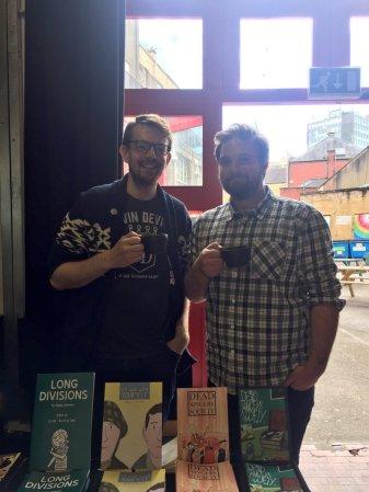 Those Good Comics gents, Paddy and Sam. Photo credit: Good Comics.